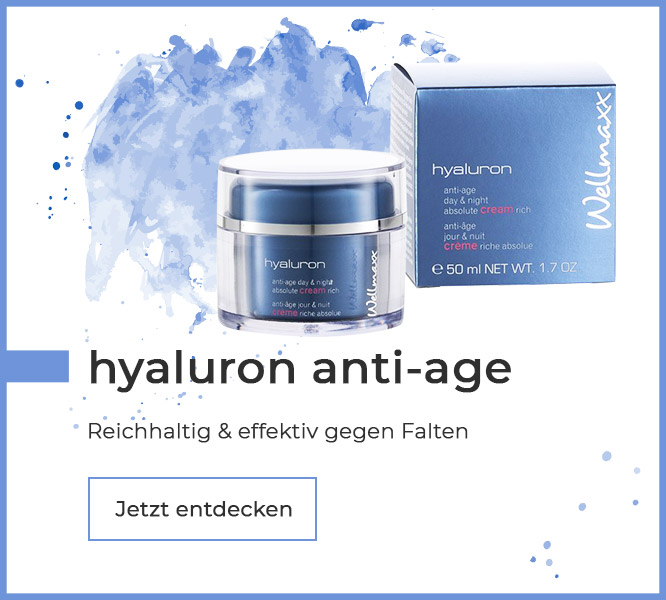 WELLMAXX hyaluron cream rich