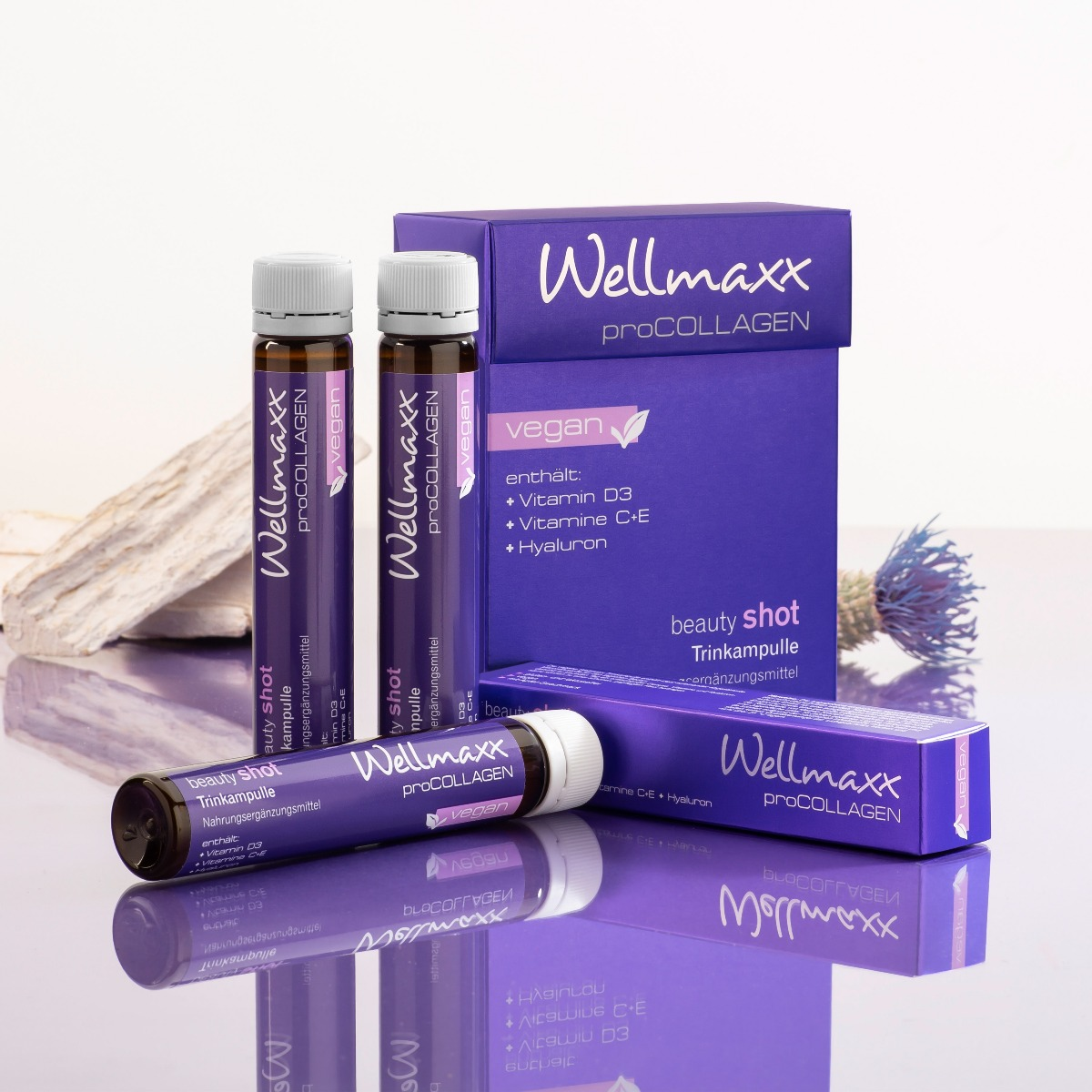 WELLMAXX pro Collagen Trinkampullen