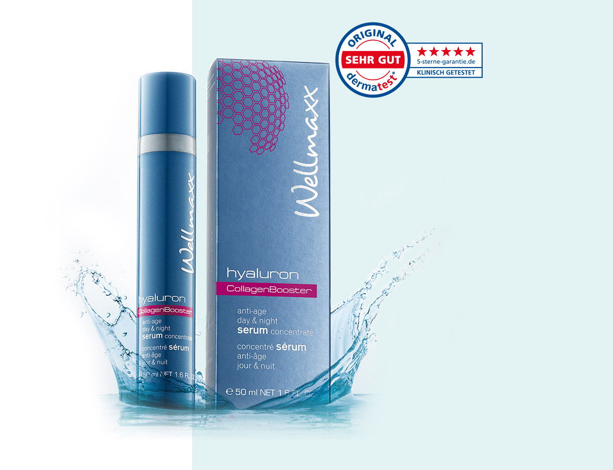 WELLMAXX hyaluron collagen booster