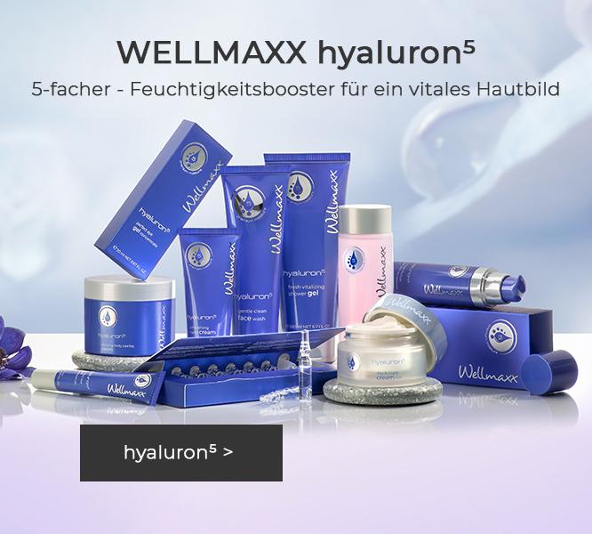 WELLMAXX hyaluron⁵ anti-aging Wirkkosmetik